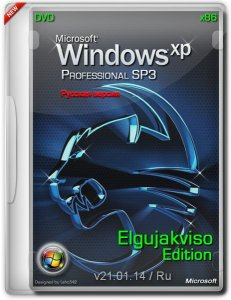 Windows XP Pro SP3 Elgujakviso Edition (x86) (v21.01.14) Русский