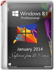 Windows 8.1 Professional January Software from the Vannza (x64) (2014) Русский