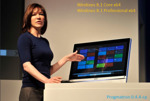 Windows 8.1 Core/Professional 6.3 9600 MSDN v.0.4.4c-p PROGMATRON (x64) (2014) Русский