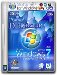 Windows 7 Ultimate SP1 Stop SMS Uni Boot by DDGroup� v.21.01 (x86) (2014) �������