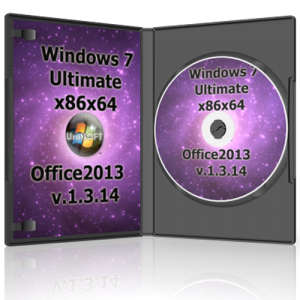 Windows 7 Ultimate & Office2013 UralSOFT v.1.3.14 (x86x64) (2014) Русский