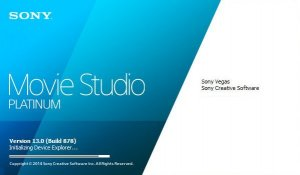 Sony Vegas Movie Studio Platinum 13.0 Build 878 (x86) [Ru/En]