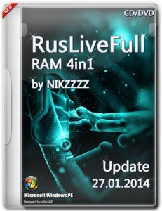 RusLiveFull RAM 4in1 by NIKZZZZ CD/DVD 27.01.2014 [Ru/En]