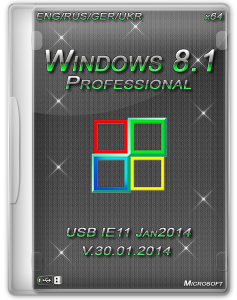 Windows 8.1 Professional Heavieri IE11 (x64) (Jan2014) [ENG/RUS/GER/UKR]