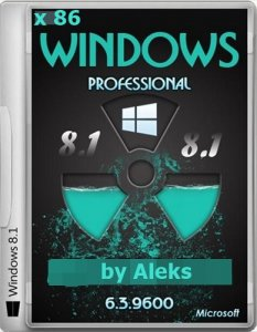 Windows 8.1 Professional by Aleks v.31.01.2014 (x86) (2014) Русский