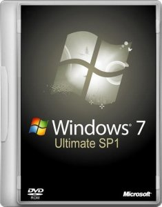 Windows 7 Ultimate SP1 by Vannza (x86) (2014) Русский