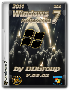 Windows 7 Professional SP1 v.08.02 by DDGroup™ (x86) (2014) Русский