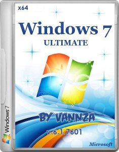 Windows 7 Ultimate SP1 by Vannza (x64) (2014) Русский