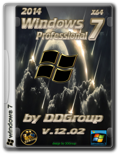 Windows 7 Professional SP1 [v.12.02]by DDGroup™ (x64) (2014) Русский