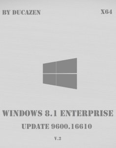 Windows 8.1 Enterprise x64 Update 9600.16610 by Ducazen (2014) Русский