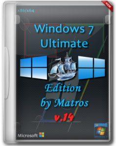 Windows 7 SP1 Ultimate Edition from Matros 14 (x86/x64) (2014) Русский