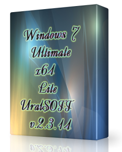 Windows 7 Ultimate Lite UralSOFT v.2.3.14 (x64) (2014) Русский