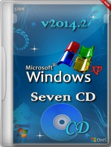 Windows XP Pro SP3 VLK Seven СD v2014.2 by OniS (2014) (RUS) [x86]