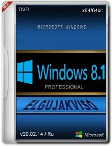 Windows 8.1 Pro Elgujakviso Edition v20.02.14 (x64) (2014) [Rus]