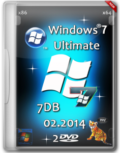 Windows 7 Ultimate SP1 7DB by OVGorskiy® (х86/x64) (2014) [Rus]