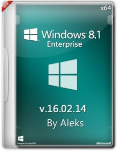 Windows 8.1 Enterprise v.16.02.14 by Aleks (64bit) (2014) Русский