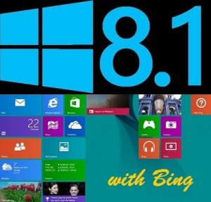 Microsoft Windows 8.1 Connected Single Language 6.3.9600.17024.WINBLUE x86-X64 EN-RU Full by Lopatkin (2014) Русский или Английский