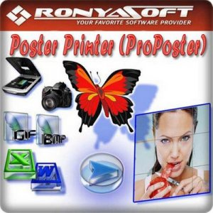 RonyaSoft Poster Printer 3.01.36 [Multi/Ru]
