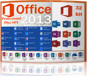 Microsoft Office 2013 Professional Plus(15.0.4569.1506) SP1(KB2817430) + автоактивация (32bit) [Rus/Multi] [RePack] by Kyvaldiys