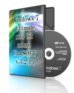Windows 7x64 Ultimate micro UralSOFT v.3.2.14 (2014) Русский