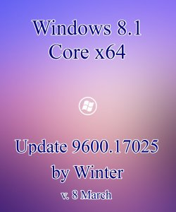 Windows 8.1 Core x64 Update 9600.17025 by Winter (2014) Русский