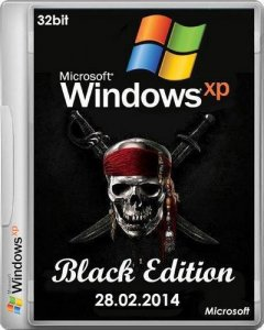 Windows XP Professional SP3 Black Edition 28.02.2014 (x86) (2014) (Multi/RUS)