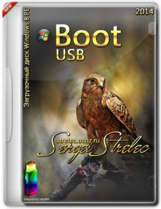 Boot CD/USB Sergei Strelec 2014 v.5.2 (x86/x64) (Windows 8 PE) [Ru/En]