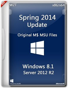 Microsoft Windows 8.1 / Server 2012 R2 Spring 2014 Update x86/x64 (2014)