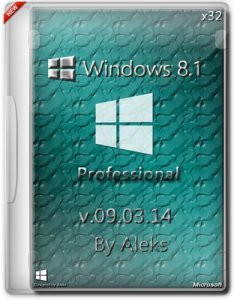 Windows 8.1 Professional by Aleks v.09.03.14 (x86) (2014) [Rus]