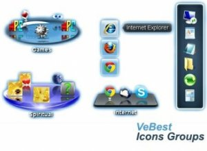 VeBest Icon Groups 2.0.5 RePack by D!akov [Multi/Ru]