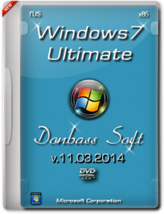 Windows 7 Ultimate SP1 DS 11.03.2014 (x86) (2014) [Ru]