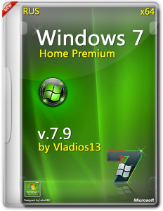 Windows 7 SP1 Home Premium x64 [v7.9] by vladios13 [RU]