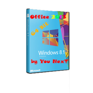 Windows 8.1 Enterprise & Office2013 by You NexT (1.0) (x64) [15.03.2014] [RUS]