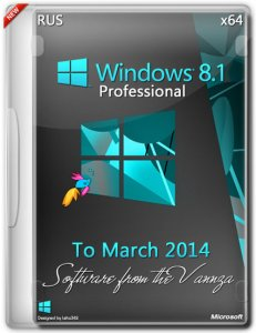 Windows 8.1 x64 Professional Vannza to March (2014)[Ru]