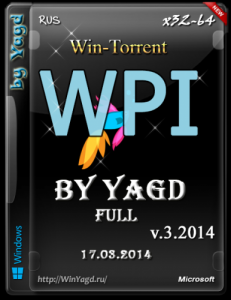 WPI by Yagd Full v.3 (Yagd BS Post Installer v.3.2014) (x86 / x64) (17.03.2014) [Rus]