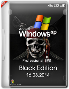 Windows XP Professional SP3 Black Edition (х86) (16.03.2014) [ENG/RUS]