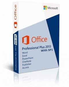 Оригинальные Microsoft Office 2013 Professional Plus SP1 RTM 15.0.4569.1506 (x86/x64) (Retail) [En]