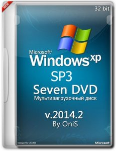 Windows XP SP3 Seven DVD 2014.3 by OniS (х86) (2014) [Rus]