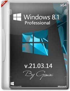 Windows 8.1 Pro v.21.03.14 by Gemini (x64) (2014) [Rus]