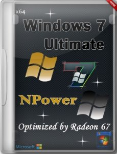 Windows 7 Ultimate SP1 Optimized NPower by Radeon 67 (x64) (2014) [RUS]