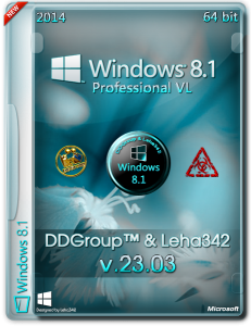Windows 8.1 Pro vl x64 [v.23.03] by DDGroup™&Leha342 [Ru]