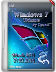Windows 7 SP1 Ultimate nBook IE11 by Qmax® (x86) (2014) [Rus]