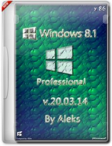 Windows 8.1 Professional & Office 2013 by Aleks v.20.03.14 (x86) (2014) [Rus]
