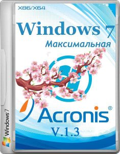 Windows 7 Ultimate (Acronis) v1.3 Full (x86 x64) (2014) (Rus + Eng)