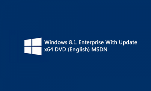 Windows 8.1 Enterprise With Update DVD MSDN (x64) (2014)[En]