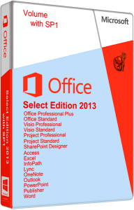 Microsoft Office Select Edition 2013 SP1 15.0.4569.1506 VL by Krokoz [Русский + Английский]