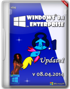 Windows 8.1 Enterprise Update1 by ALEX v08.04.2014 (x64) (2014) [RUS]