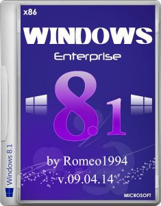Windows 8.1 Enterprise (x86) Update 1 v.09.04.14 by Romeo1994 (2014) Русский