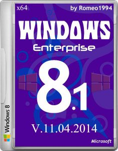 Windows 8.1 Enterprise (x64) Update 1 v.11.04.14 by Romeo1994 (2014) Русский