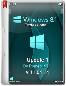 Windows 8.1 Professional (x64) Update 1 v.11.04.14 by Romeo1994 (2014) Русский